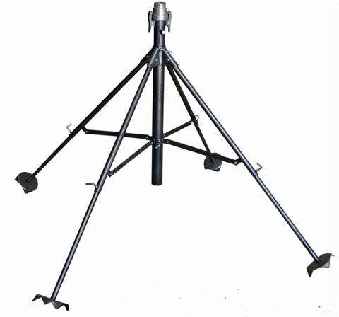 """Picture of DuCaR 4 Pod Quick/Coupling Stand 2"""""""