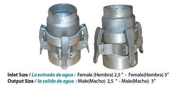 Picture of DuCaR Quick-Connect System for Sprinkler Heads Inlet/Output Size 3""